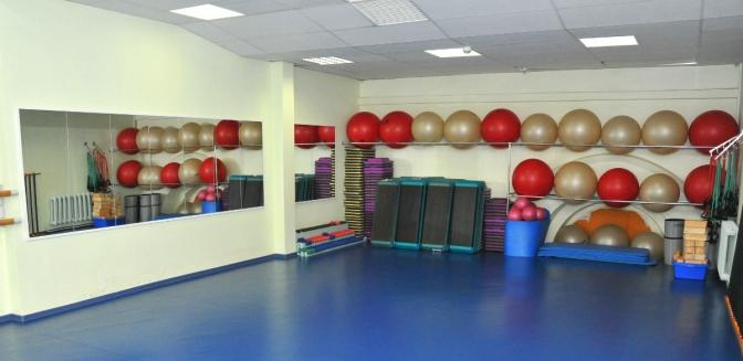 Зал аэробики фитнес-центра